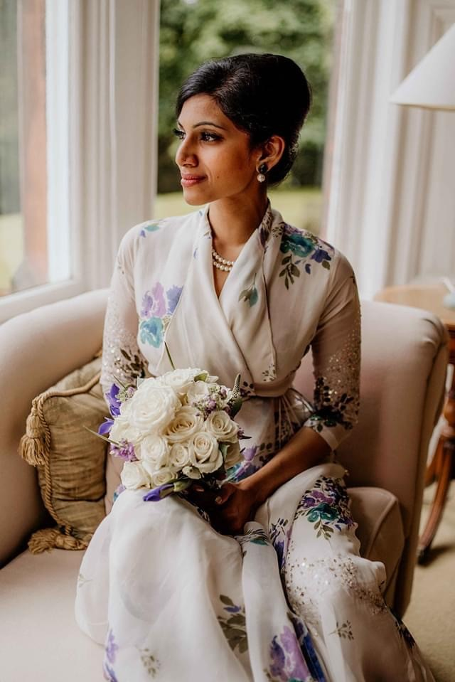Piriyah, radiant before her wedding