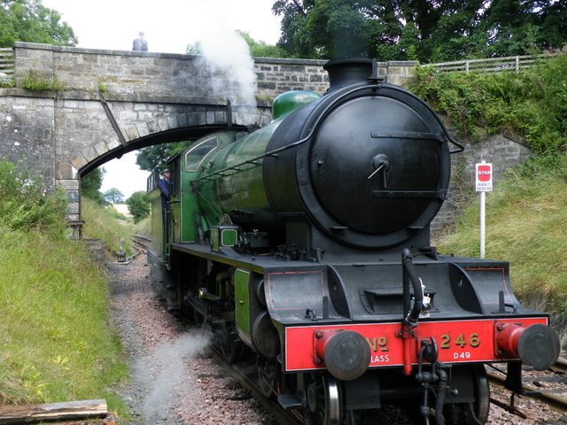 Take an Easter Egg Special steam train at Boness and Kinneil Railway