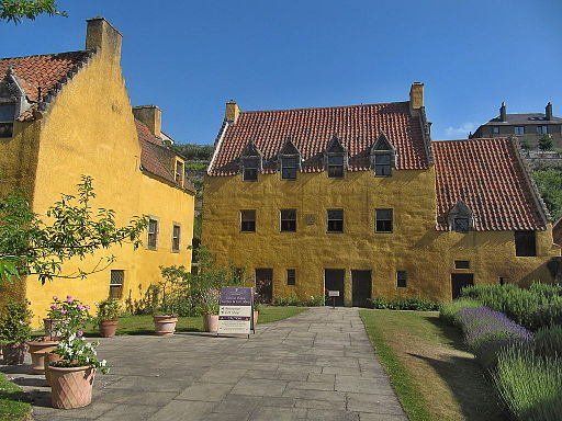 Hunt for Easter eggs at Culross Palace, Fife