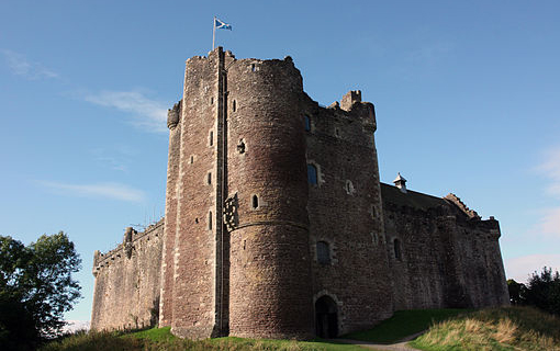 Doune Castle's brooding splendour