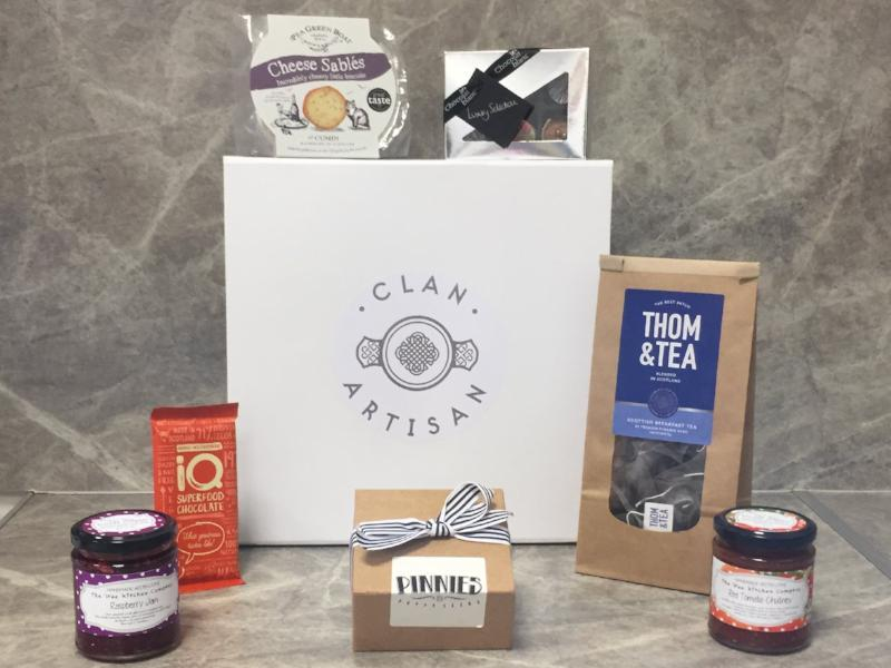 Clan Artisan hampers: sourced, wrapped and delivered with love
