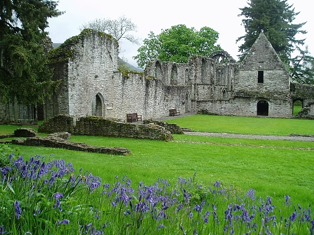 Inchmahome Priory on the Lake of Menteith