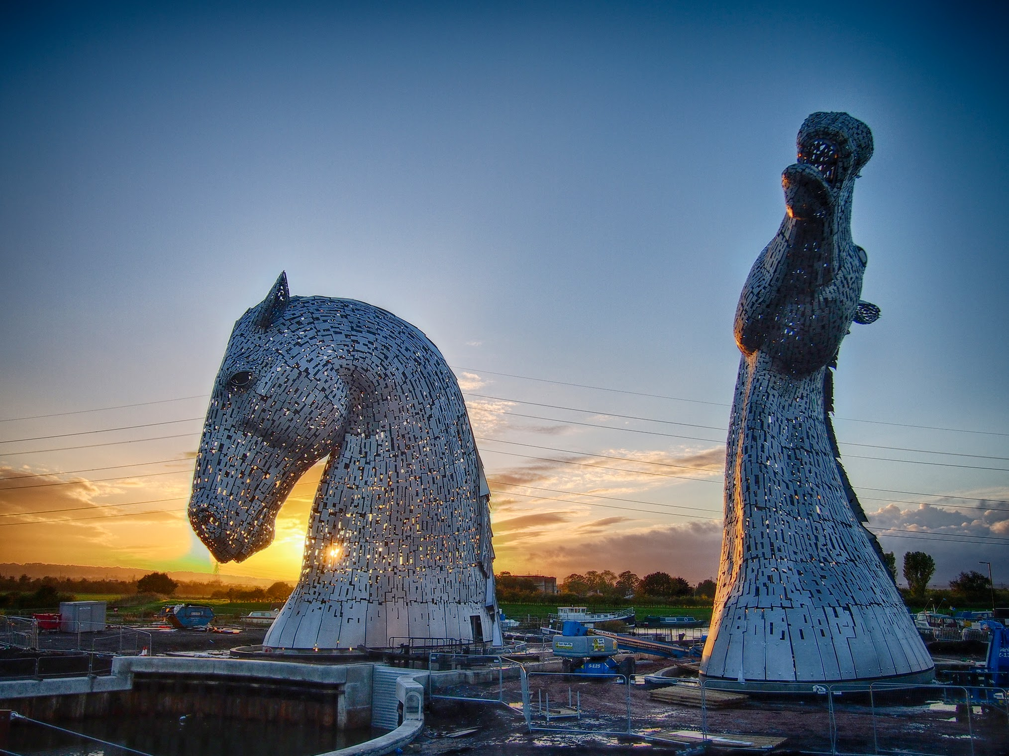 Join the Supernova 5K to light up the Kelpies at dusk