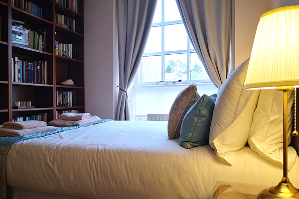 Bedroom 2 has a double bed
