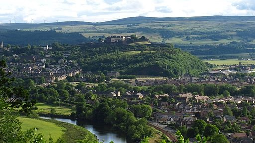 The City Park will have a significant setting below Stirling Castle