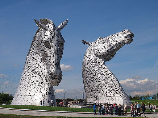 See the Kelpies on your Helix Easter egg hunt