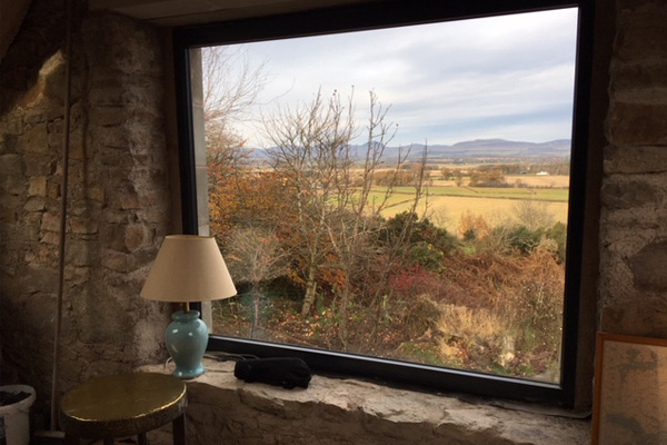 Ailsa Barn's stunning views connect you to nature