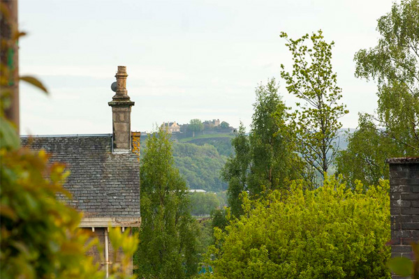 VIEWS TO STIRLING CASTLE