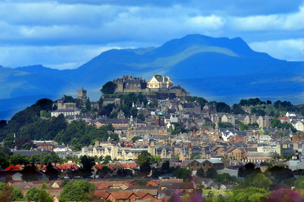 Visit Stirling Castle on holiday