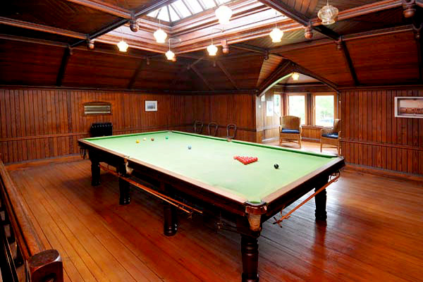 ORIGINAL VICTORIAN BILLIARD ROOM
