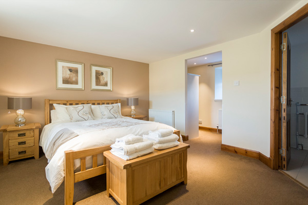 Ferguson bedroom on first floor: Master King size with en suite and dressing room