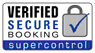 Secure online booking system powered by SuperControl - click to verify