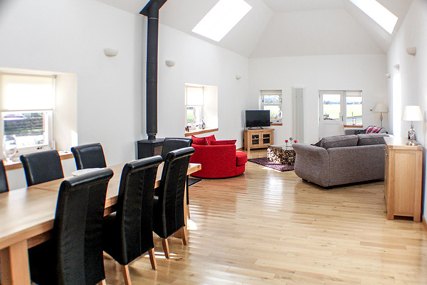 Large Double Height Ceiling Living Room Stirling Self Catering