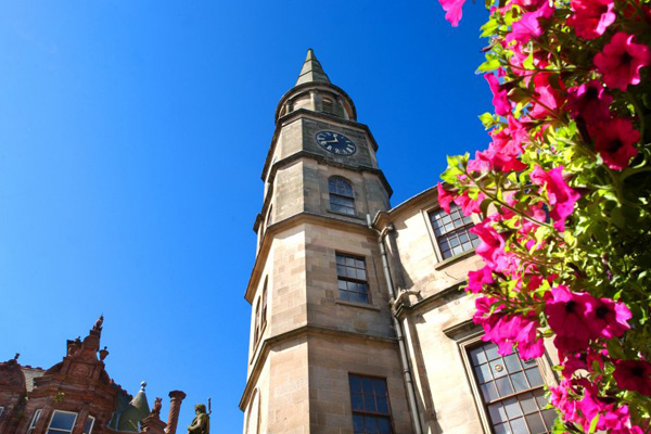Visit The Steeple at the top of Stirling's historic King Street on holiday